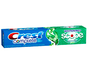 CREST COMPLETE EXTRA WHITENING SCOPE PASTA DENTAL 232GR MINT
